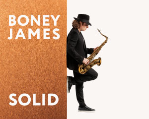 Live On Stage Productions presents Boney James: Solid Tour 2020